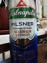 Kalnapilis Pilsner by Kalnapilis Brewery
