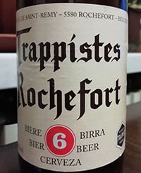 Trappistes Rochefort 6 by Abbaye Notre-Dame