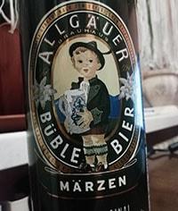 Allgauer Buble Bier Edelbrau by Allgauer Brauhaus