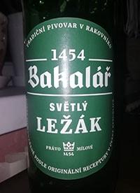 Bakalar Svetly lezak by Tradicni pivovar v Rakovniku