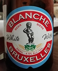Blanche de Bruxelles by Brasserie Lefebvre