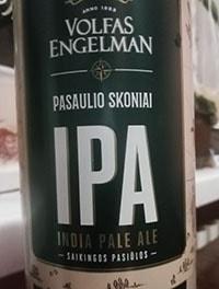 International Pale Ale IPA by Volfas Engelman