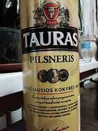 Tauras Pilsneris by Kalnapilis Brewery