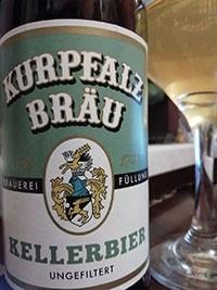 Kurpfalzbrau Kellerbier by Welde Braumanufaktur