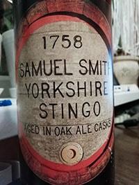 Yorkshire Stingo by Samuel Smith