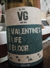 Valentine's Life Elixir от VG Craft Beer