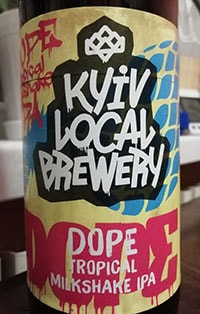 Tropical Milkshake IPA от Kyiv Local Brewery