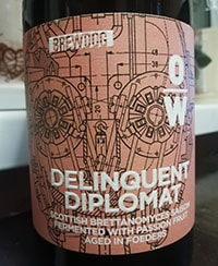 Delinquent Diplomat by OverWorks BrewDog