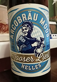 Mooser Liesl Helles by Arcobrau Grafliches Brauhaus