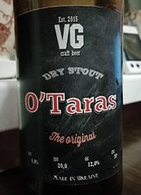 O'Taras от VG Craft Beer