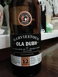 Ola Dubh 12 Year Special Reserve by Harviestoun Brewery