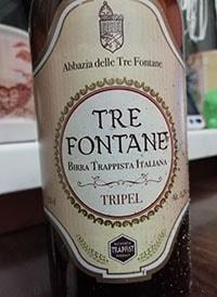 Tre Fontane Tripel by Abbazia Tre Fontane
