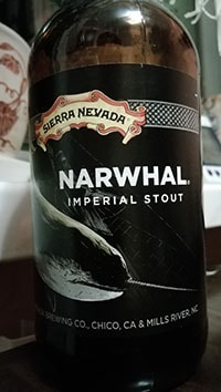 Narwhal Imperial Stout by Sierra Nevada Brewing Co.