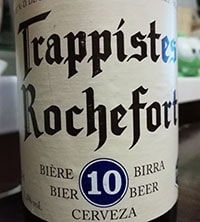 Trappistes Rochefort 10 by Abbaye Notre-Dame