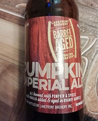 Imperial Pumpkin Ale by Lakefront Brewery