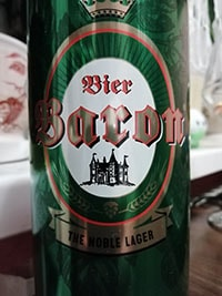 Baron Lager by Privatbrauerei H. Egerer