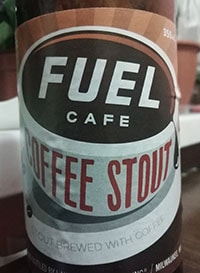 Fuel Cafe Coffee Stout by Lakefront Brewery