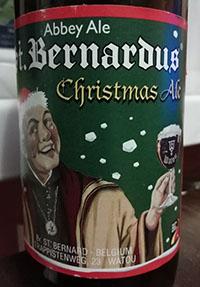 Christmas Ale by Brouwerij St.Bernardus