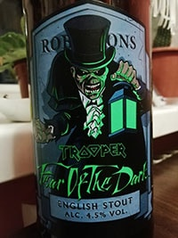 Trooper Fear of the Dark by Robinsons Brewery