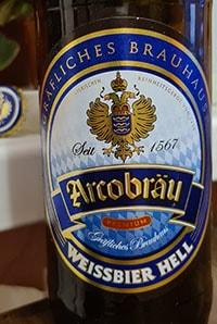Weissbier Hell by Arcobrau Grafliches Brauhaus
