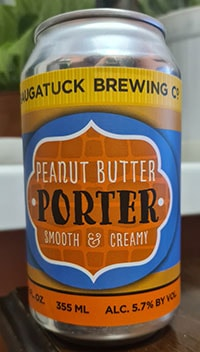 Peanut Butter Porter by Saugatuck Brewing Company