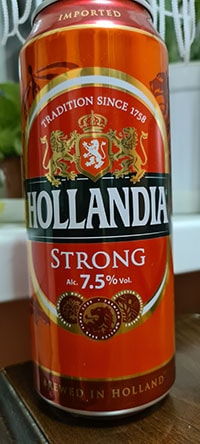 Hollandia Strong by Royal Swinkels Family Brewers
