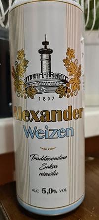 Alexander Weizen by A. Le Coq