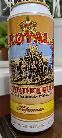 Royal Grunderbier Hefeweizen by Privatbrauerei Eibau