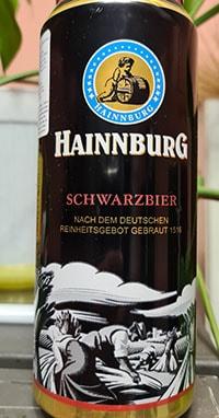 Hainnburg Schwarzbier by Privatbrauerei Eibau
