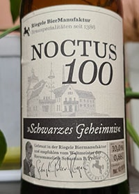 Noctus 100 by Brauhaus Riegele