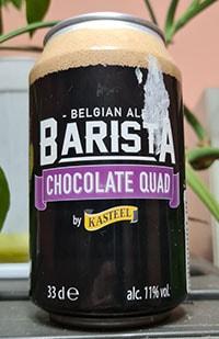 Barista Chocolate Quad by Kasteel Brouwerij Vanhonsebrouck