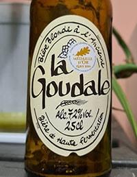 La Goudale Blonde by Brasserie Goudale