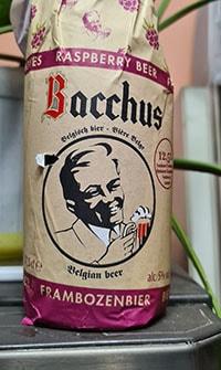 Bacchus Frambozenbier by Kasteel Brouwerij Vanhonsebrouck