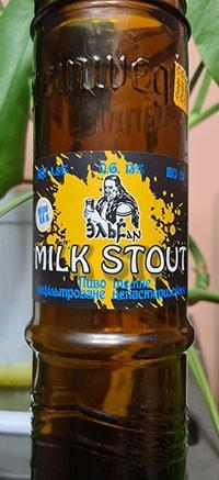 Milk Stout ЭльFan от Пивна легенда