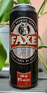 Faxe Royal Strong by Royal Unibrew