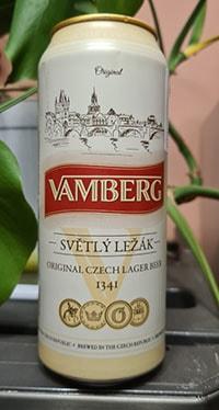 Vamberg Svetly lezak by Pivovar Liberec Vratislavice