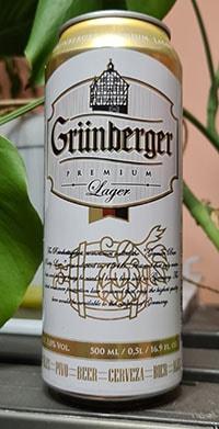 Grunberger Premium Lager by Volfas Engelman