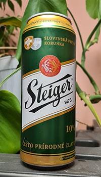 Steiger 10% by Pivovar Steiger