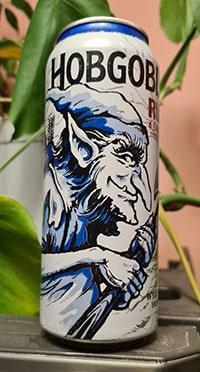 Hobgoblin Ruby Beer by Wychwood Brewery