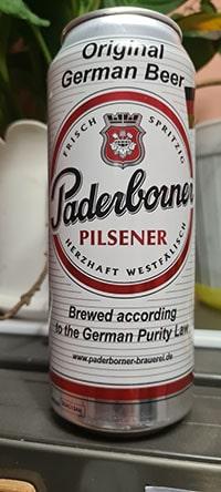 Paderborner Pilsener by Paderborner Brauerei
