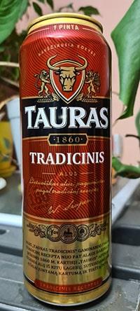 Tauras Tradicinis by Kalnapilis Brewery