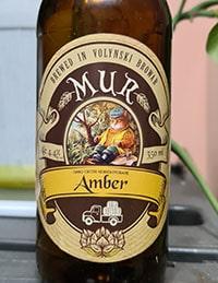 Mur Amber от Волинський бровар