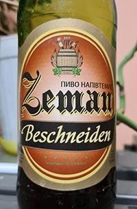 Zeman Beschneiden от Луцький пивзавод