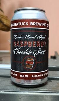 Bourbon Barrel Aged Raspberry Chocolate Stout