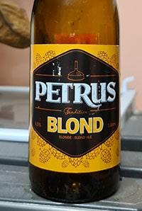 Petrus Blond by Brouwerij De Brabandere