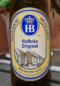 Hofbrau Original by Staatliches Hofbrauhaus Munchen