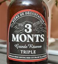 3 Monts Triple Grande Reserve by Brasserie de Saint Sylvestre