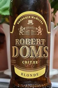 Robert Doms Світле Blonde от Carlsberg Ukraine