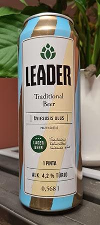 Leader Sviesusis by Kalnapilis Brewery