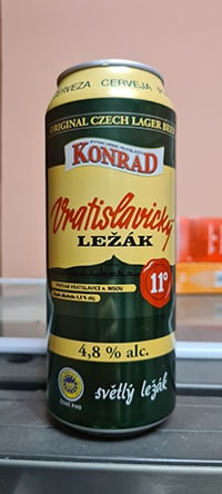Konrad 11° Vratislavicky lezak by Pivovar Liberec Vratislavice